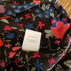Joie Tops - Joie Silk Racerback Floral Tank Size Small